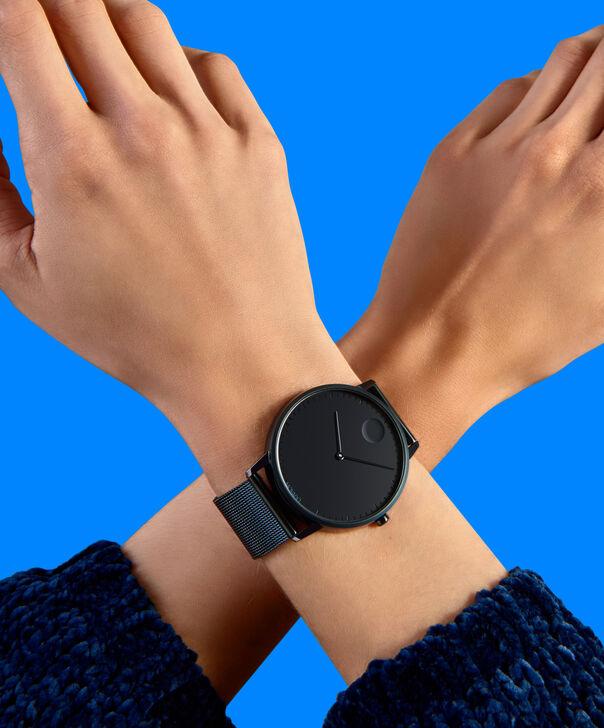 MOVADO Movado Face3640009 – Montre-bracelet à cadran de 41 mm pour hommes - Other view