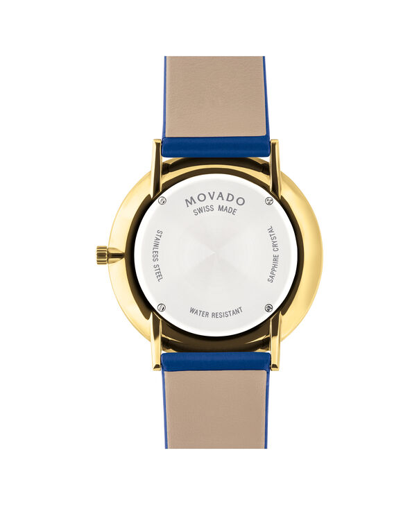 MOVADO Modern 470607254 – Movado.com EXCLUSIVE 40mm strap watch - Back view