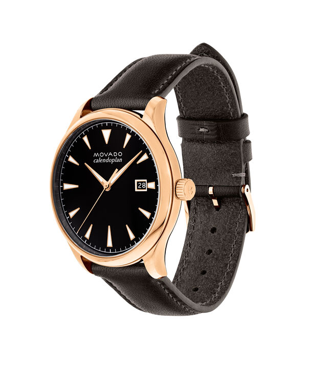 MOVADO Movado Heritage Series3650020 – Men's 42 mm strap watch - Side view