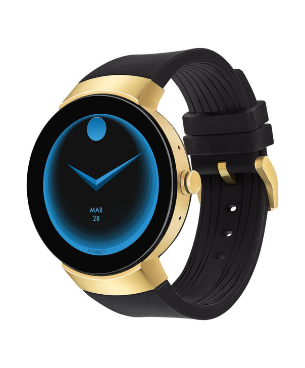 MOVADO Movado Connect3660014 – 46.5 mm display smartwatch - Side view