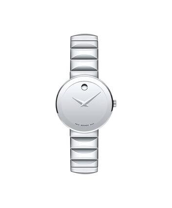 MOVADO Sapphire0607213 – Montre-bracelet à cadran de 28 mm pour femmes - Front view