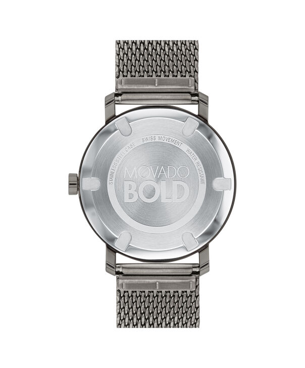 MOVADO Movado BOLD3600561 – Men's 40 mm bracelet watch - Back view