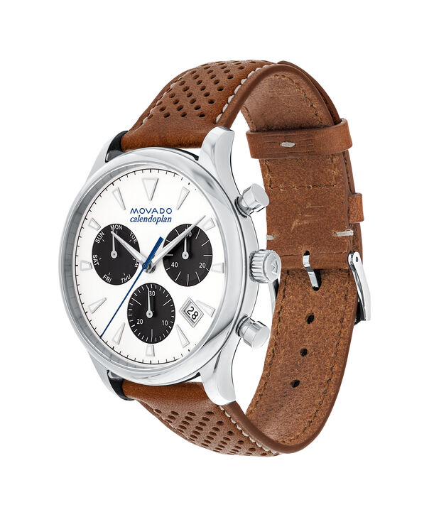 MOVADO Movado Heritage Series3650008 – Men's 43 mm strap chronograph - Side view