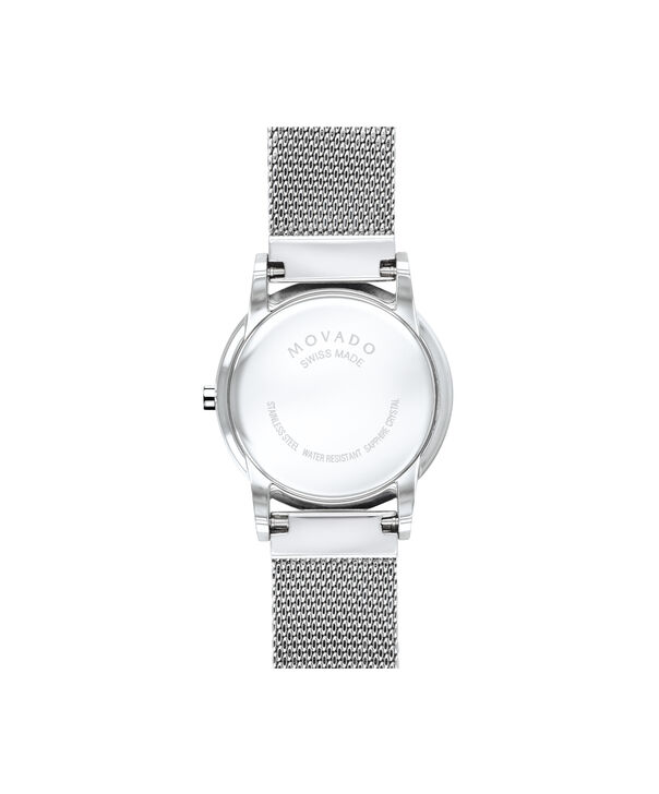 MOVADO Museum Classic0607425 – 28mm Museum Classic on Mesh - Back view