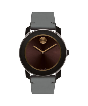 MOVADO Movado BOLD3600455 – 42mm Colorado leather strap watch - Front view