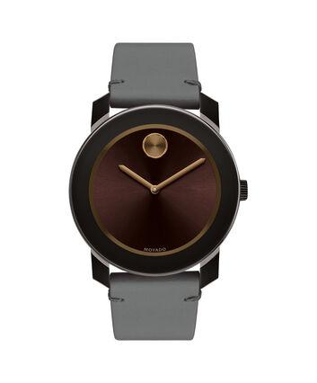 MOVADO Movado BOLD3600455 – Montre de 42 mm avec bracelet en cuir Colorado - Front view