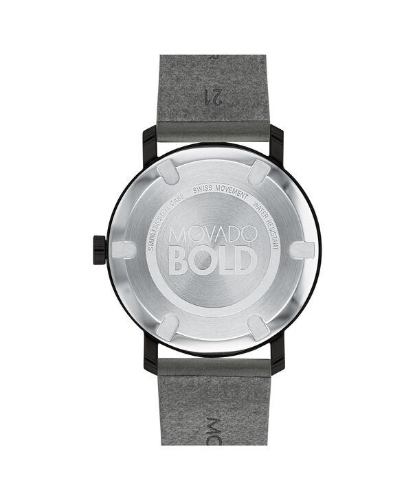 MOVADO Movado BOLD3600523 – Men's 40 mm strap watch - Back view