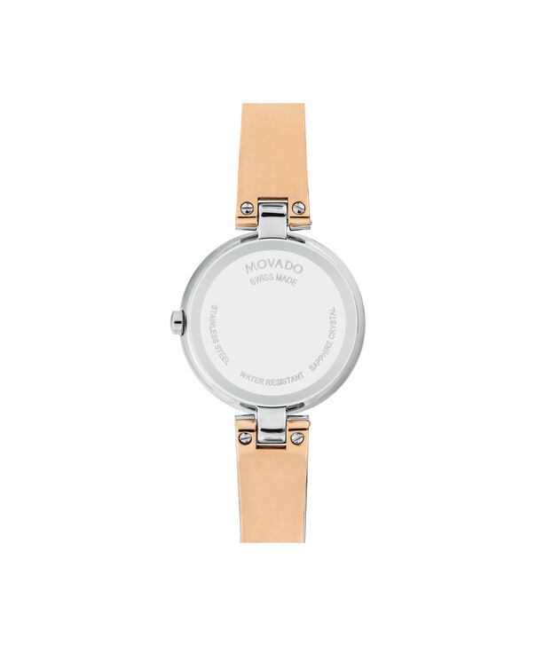 MOVADO Aleena0607151 – Women's 27 mm bangle watch - Back view