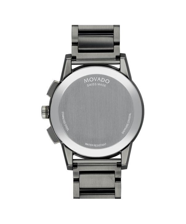 MOVADO Museum Sport0607291 – Men's 43 mm bracelet chronograph - Back view