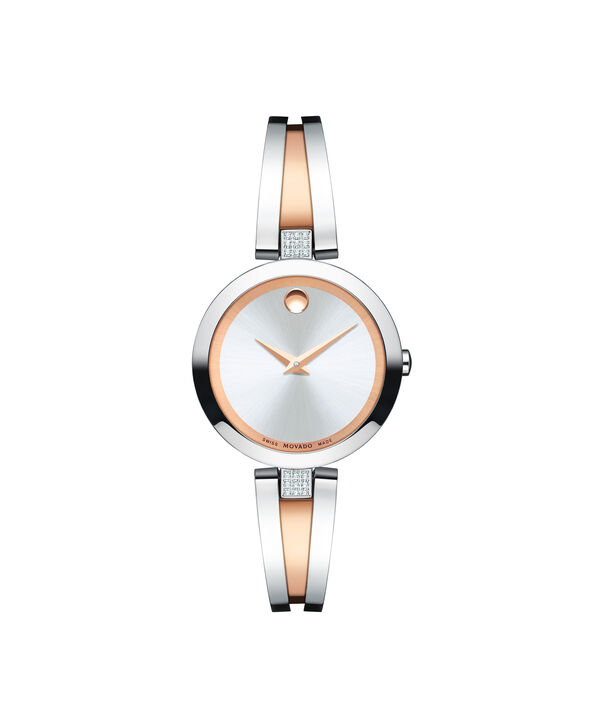 MOVADO Aleena0607152 – Women's 27 mm bangle watch - Front view