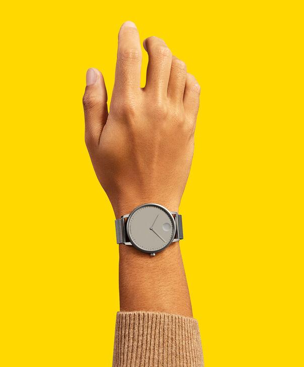 MOVADO Movado Face3640008 – Montre-bracelet à cadran de 41 mm pour hommes - Back view