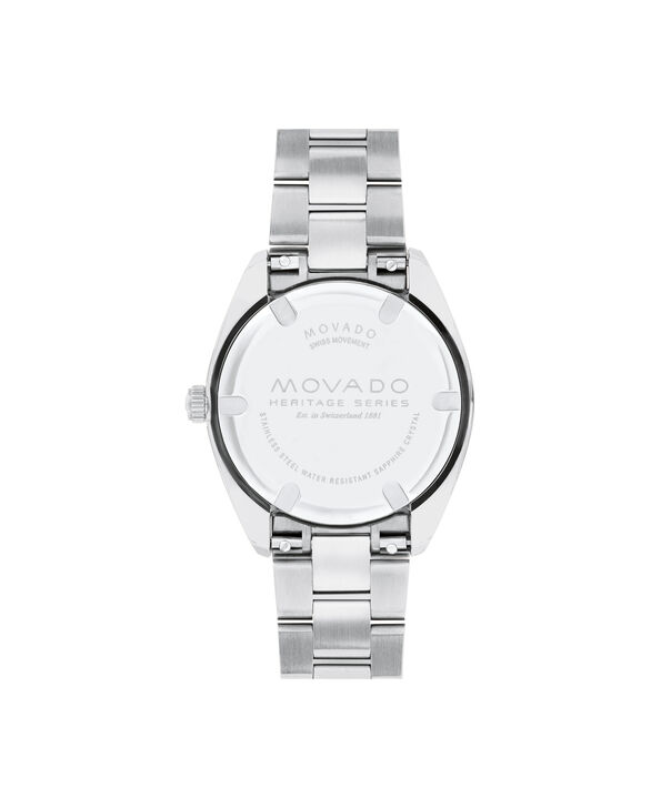 MOVADO Movado Heritage Series3650076 – Women's 31 mm bracelet watch - Back view