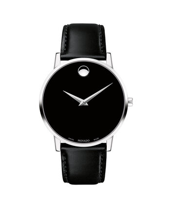 MOVADO Museum Classic0607269 – Men's 40 mm strap watch - Front view