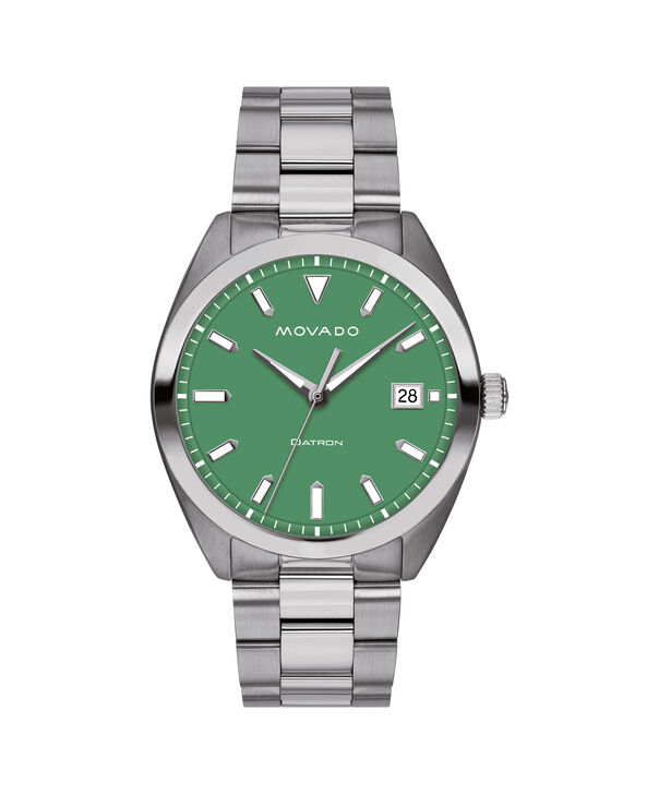 MOVADO Movado Heritage Series3650075 – Men's 39 mm bracelet watch - Front view
