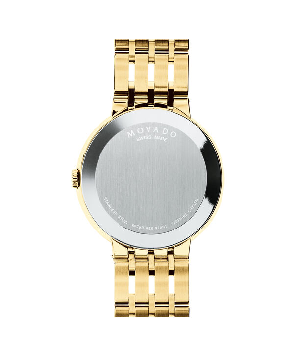 MOVADO Esperanza0607059 – Men's 39 mm bracelet watch - Back view