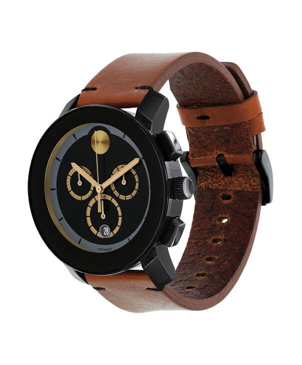MOVADO Movado BOLD3600540 – 43 mm Colorado strap chrono - Side view