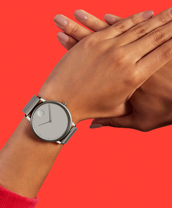 MOVADO Movado Face3640008 – Men's 41 mm bracelet watch - Other view