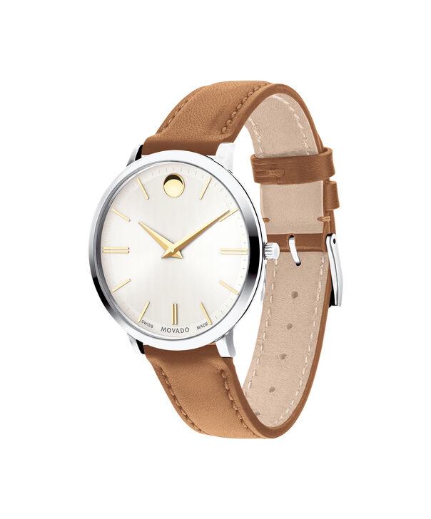 MOVADO Movado Ultra Slim0607371 – Ultra Slim 35 mm, bracelet en cuir - Side view