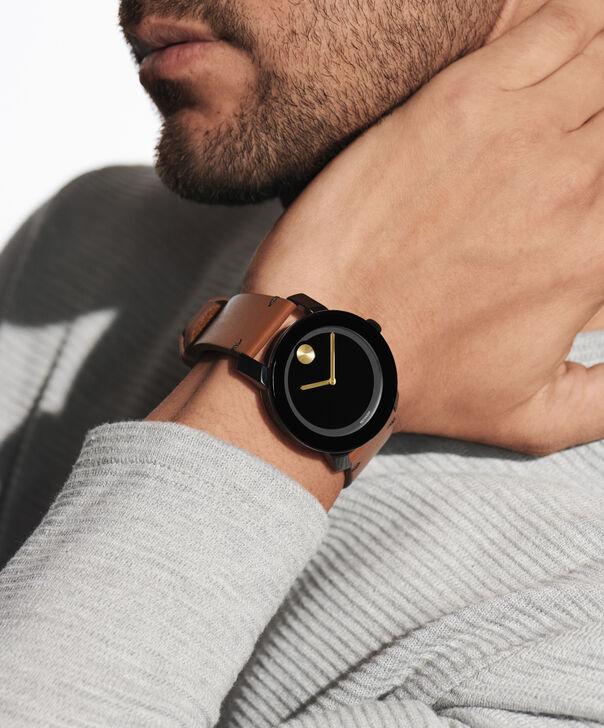 MOVADO Movado BOLD3600305 – Montre de 42 mm avec bracelet en cuir Colorado - Other view