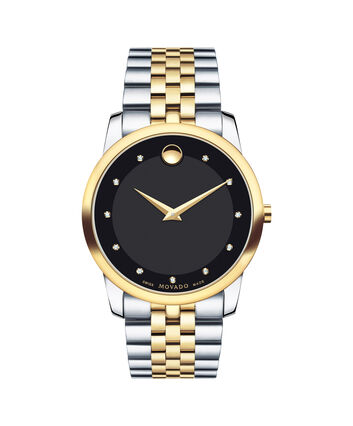 MOVADO Museum Classic0606879 – Men's 40 mm bracelet watch - Front view