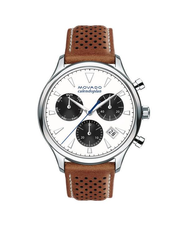 MOVADO Movado Heritage Series3650008 – Men's 43 mm strap chronograph - Front view