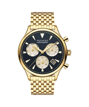 MOVADO Movado Heritage Series3650015 – Men's 43 mm bracelet chronograph - Front view