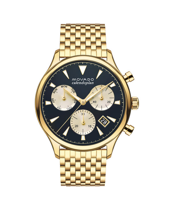 MOVADO Movado Heritage Series3650015 – Men's 43 mm bracelet chronograph - Front view