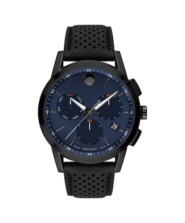 MOVADO Museum Sport0607360 – 43mm Museum Sport Chrono on Strap - Front view