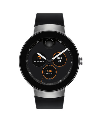 MOVADO Movado Connect3660016 – 46.5 mm display smartwatch - Front view