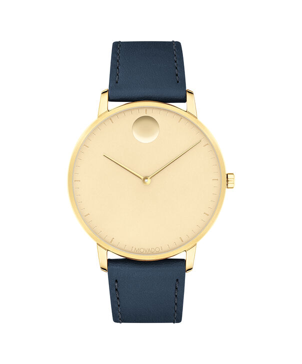 MOVADO Movado Face3640005 – Men's 41 mm strap watch - Front view