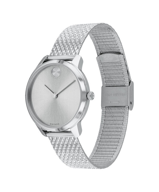 MOVADO Movado Bold3600595 – BOLD 35mm mince, mailles - Side view
