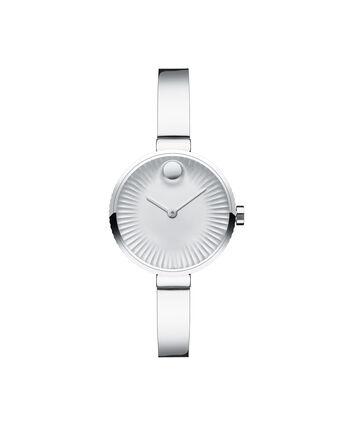 MOVADO Movado Edge3680020 – Montre de 28 mm pour femmes, à bracelet-jonc - Front view