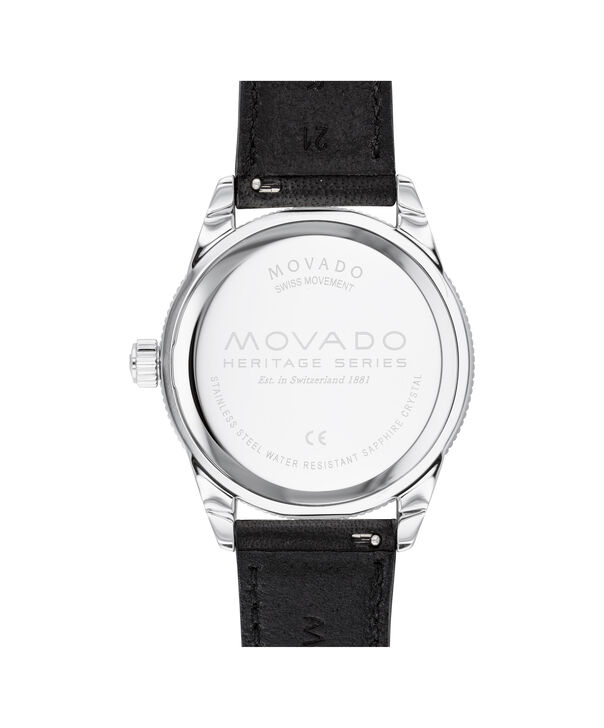 MOVADO Heritage Series3650093 – Calendoplan S Diver Heritage Series 43 mm - Back view