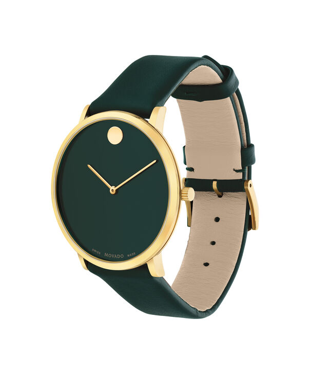 MOVADO Modern 470607260 – Movado.com EXCLUSIVE 40mm strap watch - Side view