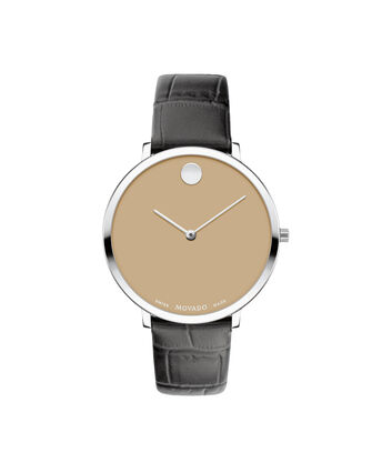 MOVADO Modern 470607343 – 35mm Modern 47 on Strap - Front view