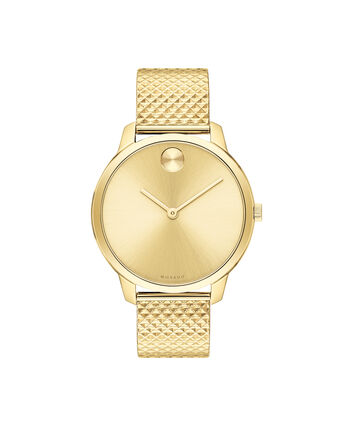 MOVADO Movado Bold3600598 – 35mm BOLD Thin on mesh - Front view