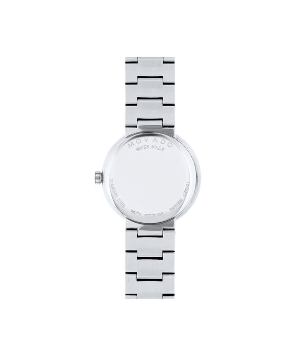 MOVADO Sapphire0607213 – Women's 26 mm bracelet watch - Back view