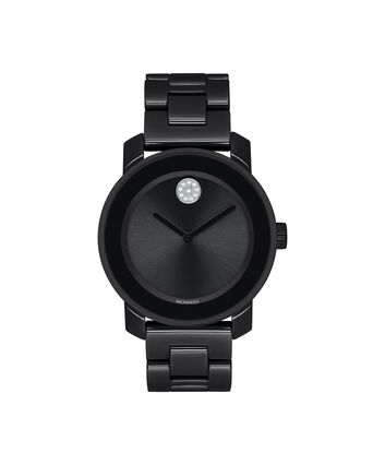 MOVADO Movado BOLD3600535 – 36 mm ceramic bracelet watch - Front view