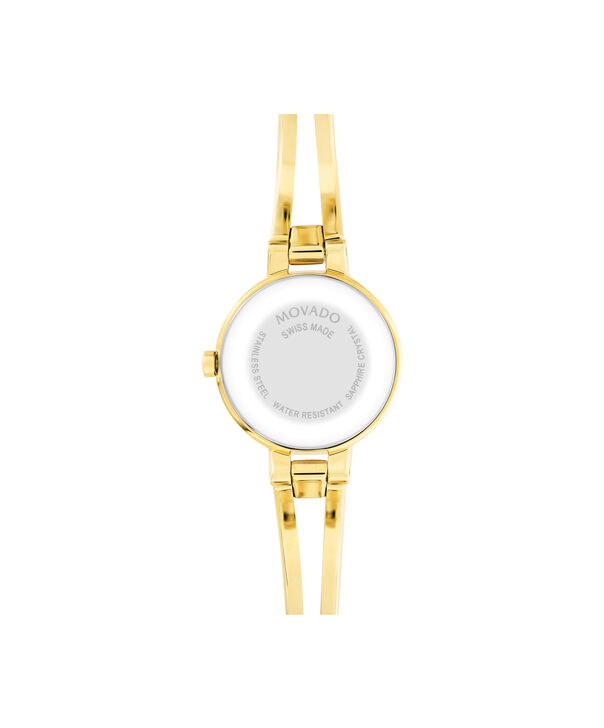 MOVADO Amorosa0607155 – Women's 24 mm bangle watch - Back view