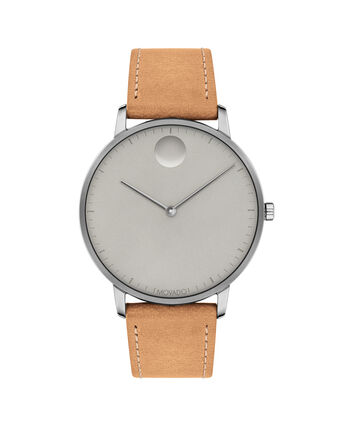 MOVADO Movado Face3640003 – Men's 41 mm strap watch - Front view