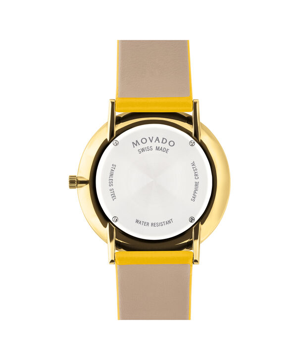 MOVADO Modern 470607255 – Movado.com EXCLUSIVE 40mm strap watch - Back view