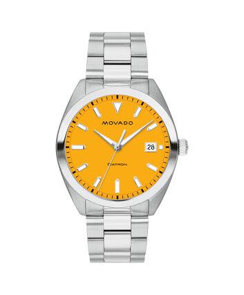 MOVADO Movado Heritage Series3650074 – Men's 39 mm bracelet watch - Front view