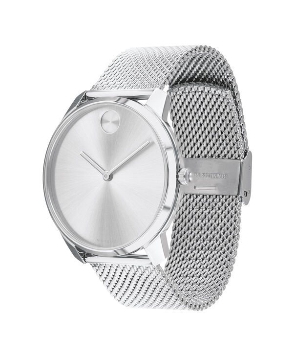 MOVADO Movado Bold3600589 – BOLD 42mm mince, mailles - Side view