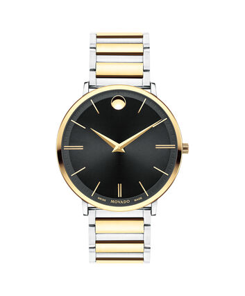 MOVADO Movado Ultra Slim0607169 – Men's 40 mm bracelet watch - Front view