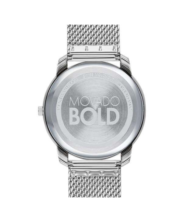 MOVADO Movado Bold3600589 – BOLD 42mm mince, mailles - Back view