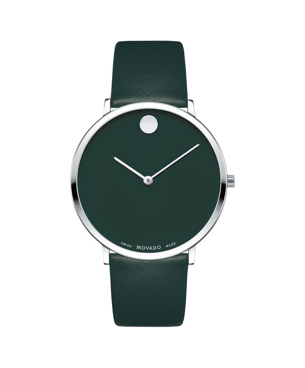 MOVADO Modern 470607258 – Movado.com EXCLUSIVE 40mm strap watch - Front view