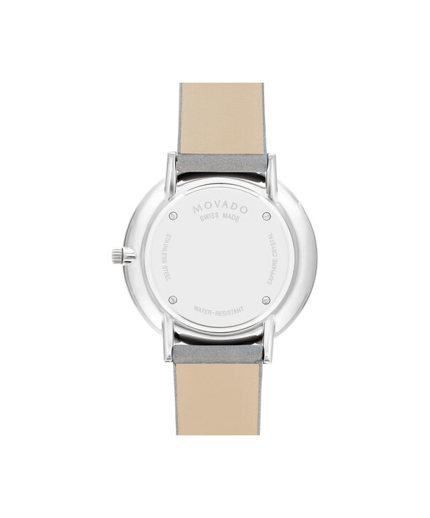 MOVADO Modern 470607344 – 35 mm Modern 47 on Strap - Back view