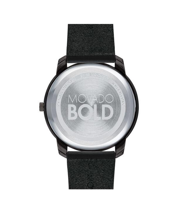 MOVADO Movado BOLD3600587 – 42mm BOLD Thin on Strap - Back view