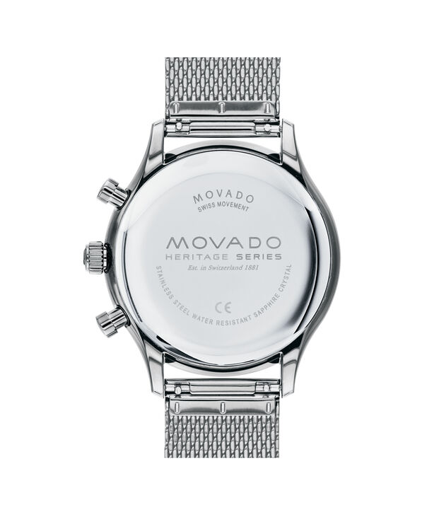 MOVADO Movado Heritage Series3650097 – 43mm Heritage Calendoplan Chrono - Back view