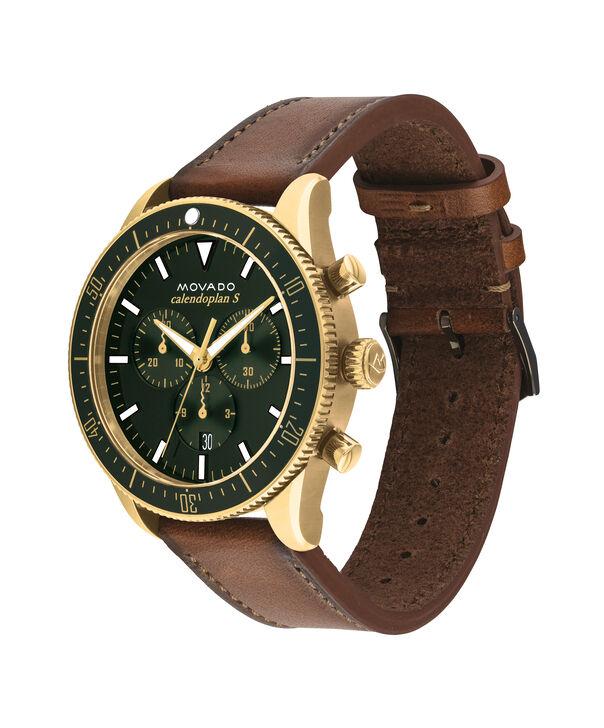 MOVADO Movado Heritage Series3650062 – Chronographe de 42 mm, avec bracelet souple - Side view